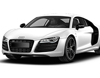 Special Edition R8 in Ibis White