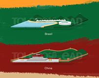 Ilustração - Civilizações - Toledo EAD
