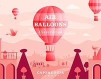 Cappadocia Illustration