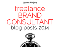 freelance BRAND CONSULTANT blog posts 2014