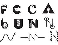Letters Symbol Set