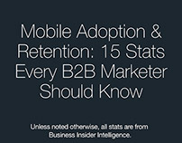 INFOGRAPHIC: Mobile Adoption & Retention