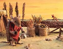 The Fox & the Armadillo   interactive e.book