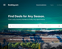 Booking.com UI/UX New Experience