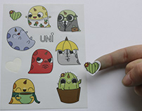 Uni stickers