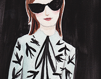 Fashion Illustration - ROCHAS '15