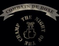 Livre photos boxe - The night of the champ