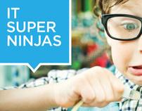 IT Super Ninjas | Web and Branding