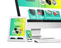 Diseño web UPS y Estabilizadores