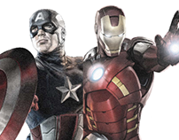 Captain America VS Iron Man, Civil war