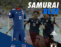 Japan soccer uniform design