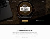 Waffle Cafe Website Design