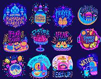 Snapchat Ramadan Stickers