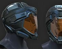 Halo-style helmet (Nov 2012)