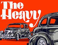 The Heavy : Vinyl Cover Design & Illustration