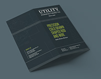Utility Manufacturing Brochure and Business Cards