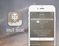 WoT Stat - iOS App