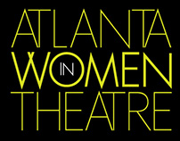 Logo and Postcard: Atlanta Women in Theatre