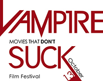 Vampire Movies that don't Suck Fim Festival