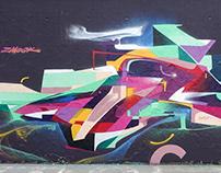 Graffiti selection. 2017