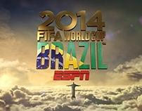 ESPN FIFA WC2014 Special Logo / Rejoin / End Stamp
