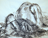 Sumi Ink Painting Series