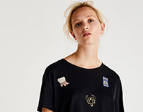 PULL&BEAR- PATCHES PRINT