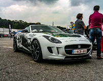 Jaguar F-Type Runball Rally 2017