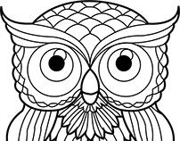 Owl illustration #2
