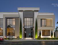 luxury modern style villa