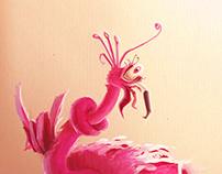 Flamingo Trouble