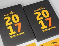 2017 MeinArt calendar