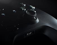 Xbox One Controller Silver | Full CGI