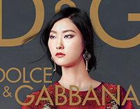 Dolce & Gabbana Ad Design