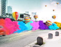 Honda Turkey ads design & CGI
