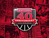 Rutgers Men's Basketball Final Four 40th Anniversary