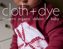 web banner for cloth + dye