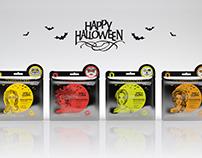 проект масок для лица Хэллоуин