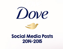 Dove Instagram posts 2014-2015
