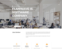 ElanWave.nl Agency Web Design