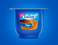 Danette Toffee Product Launch