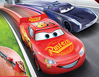 Disney Pixar Cars 3: Spin Master Board Games