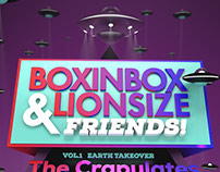 Artwork for BOXINBOX & LIONSIZE Party