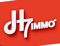 H7immo | Logo Design