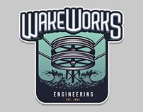 WakeWorks logo