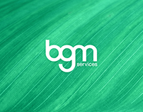 BGM Services Logo Design