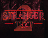 [Freebie] Stranger PSD Text Effect Season 2