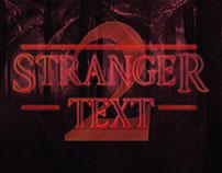 [Freebie] Stranger PSD Text Effect Season 2