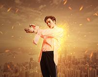 【JACKSON】Asian artist effects poster