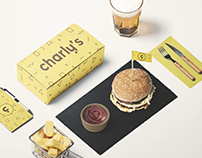 CHARLY'S Pop Culture Bar Branding